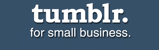 tumblr for small business banner