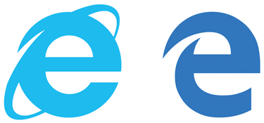 Microsoft Browser icon change