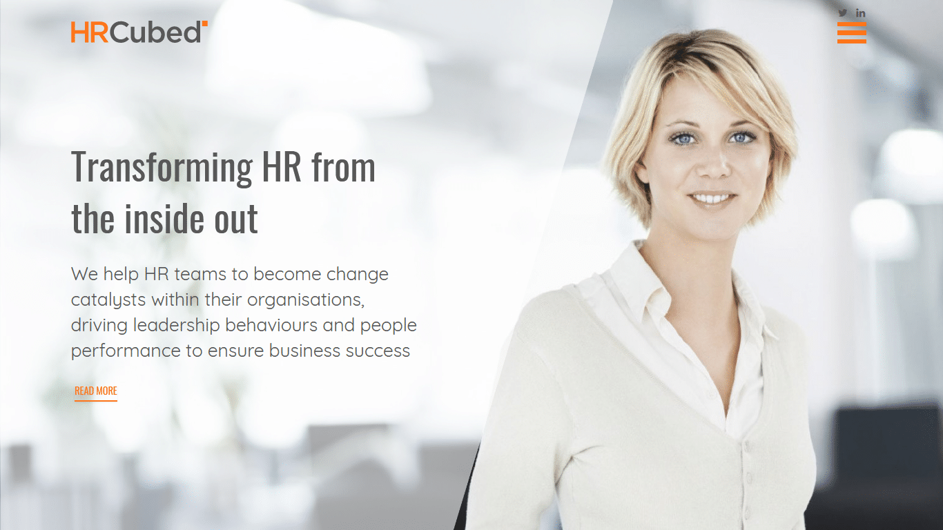 HR Cubed - Cheshire Web Design