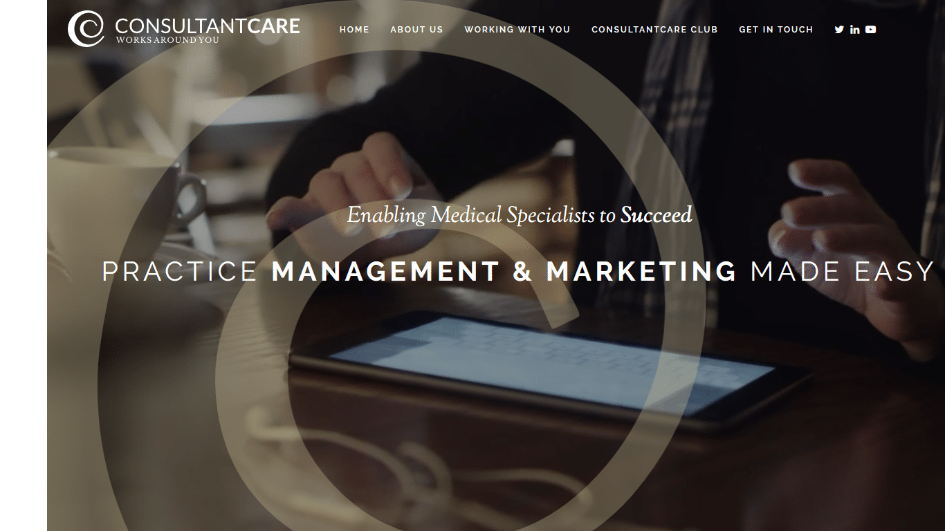 ConsultantCare website