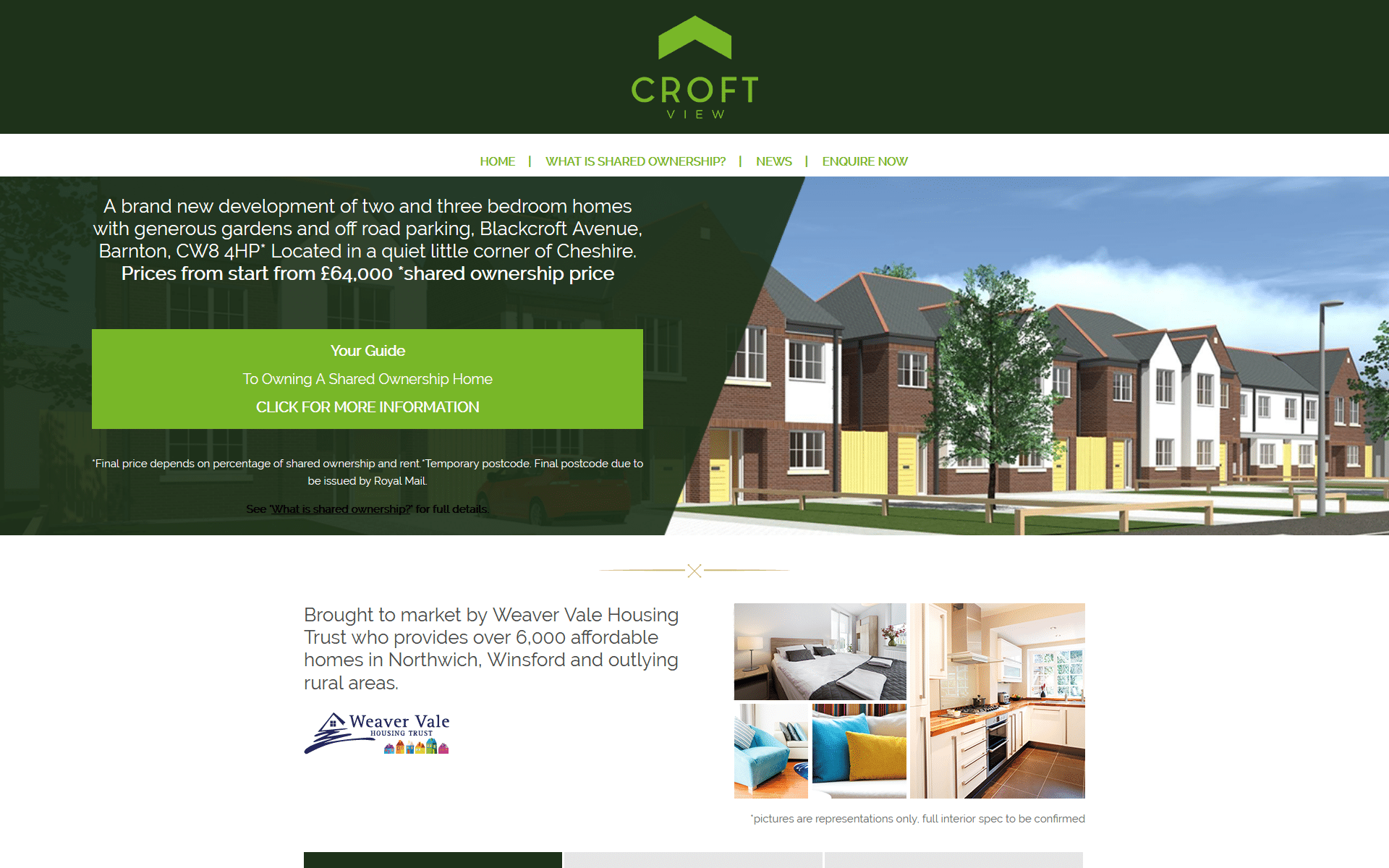 Weaver Vale Shared Ownership Website untitled™