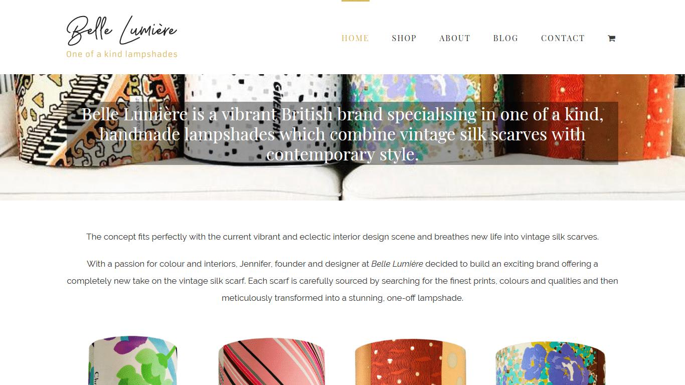 Belle Lumière Website